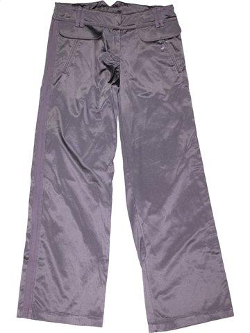 Pantalon fille LILI GAUFRETTE gris 12 ans hiver #1027564_1