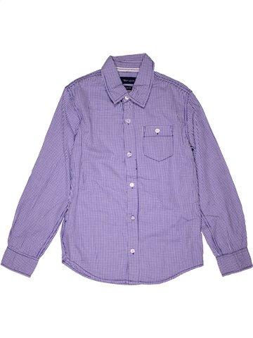 Chemise manches longues garçon TEDDY SMITH violet 10 ans hiver #1049329_1