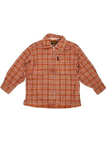 Camisa de manga larga niño TIMBERLAND naranja 4 años invierno #1049888_1
