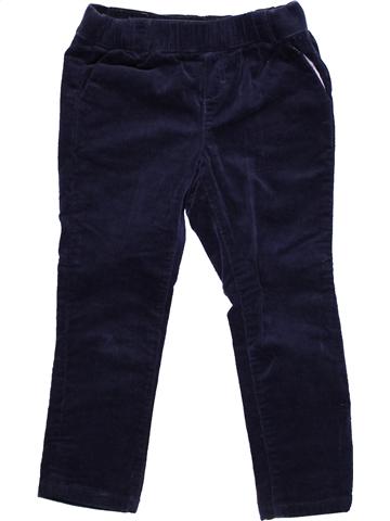 Pantalón niño CYRILLUS negro 5 años invierno #1060345_1