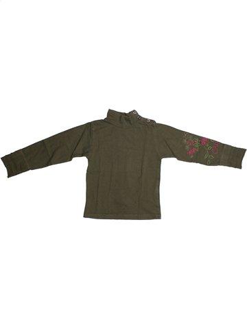 T-shirt manches longues fille CHIPIE vert 5 ans hiver #1101085_1