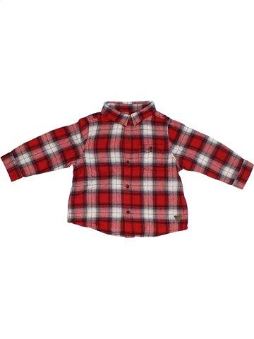 Chemise manches longues garçon ZARA marron 6 mois hiver #1101627_1