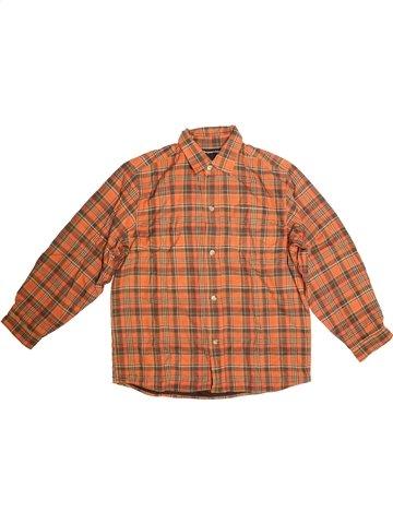 Chemise manches longues garçon TOUT COMPTE FAIT orange 12 ans hiver #1105449_1
