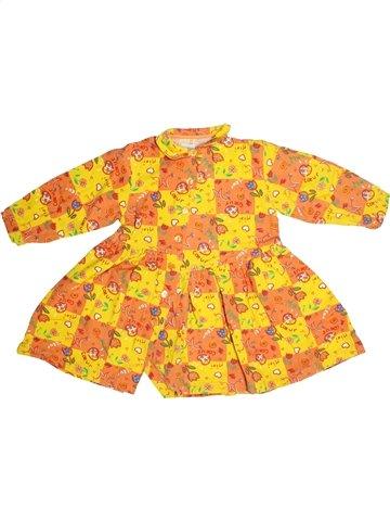 Vestido niña CLAYEUX naranja 4 años invierno #1106473_1