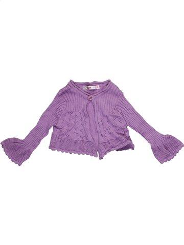 Chaleco niña CLAYEUX violeta 4 años invierno #1117901_1