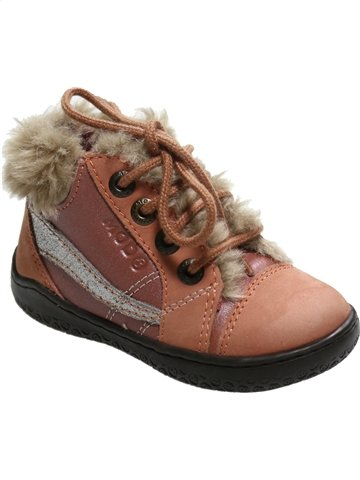 Zapatos con cordones niña MOD8 marrón 21 verano #1119385_1
