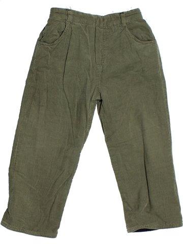 Pantalon garçon TARTINE ET CHOCOLAT vert 2 ans hiver #1122339_1