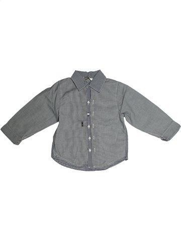 Chemise manches longues garçon 3 POMMES gris 2 ans hiver #1135694_1