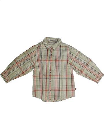 Chemise manches longues garçon YCC-214 gris 4 ans hiver #1136092_1