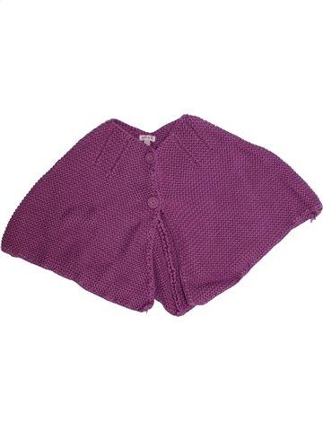 Cape fille GRAIN DE BLÉ violet 2 ans hiver #1149992_1