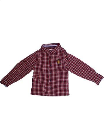 Chemise manches longues garçon JODHPUR violet 3 ans hiver #1152196_1