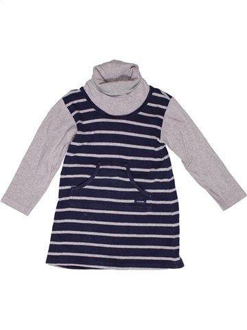 Robe fille LE PHARE DE LA BALEINE bleu 3 ans hiver #1156783_1