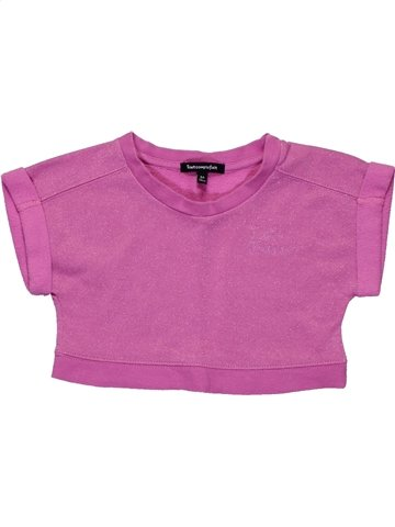Sweat fille TOUT COMPTE FAIT violet 6 ans hiver #1158862_1