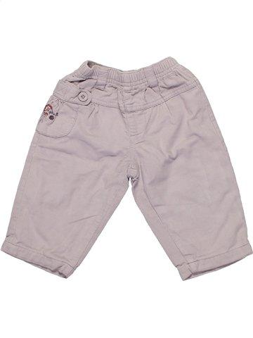 Pantalón niña ALPHABET gris 6 meses invierno #1161179_1