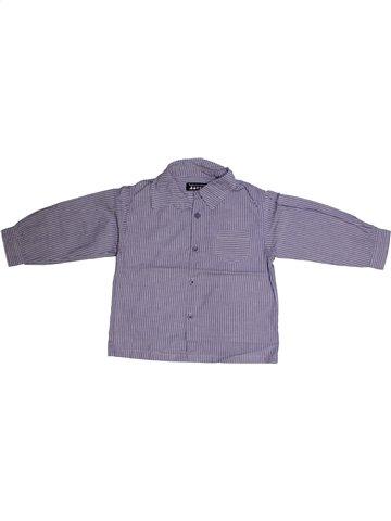 Camisa de manga larga niño TOUT COMPTE FAIT azul 2 años invierno #1162637_1