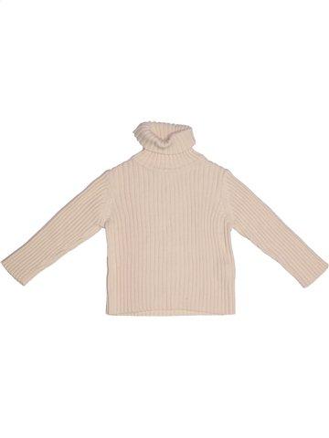 T-shirt col roulé fille ZARA beige 12 mois hiver #1163413_1