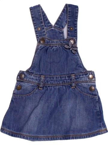 Robe fille GRAIN DE BLÉ bleu 6 mois été #1165052_1