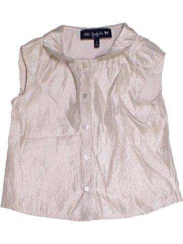Blusa de manga corta niña LILI GAUFRETTE rosa 4 años verano #1166006_1
