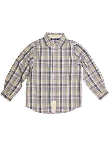 Chemise manches longues garçon TOUT COMPTE FAIT gris 10 ans hiver #1166735_1