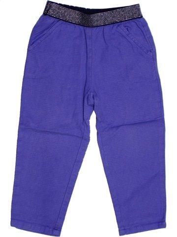 Pantalón niña BOUT'CHOU violeta 2 años invierno #1168029_1