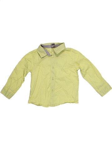 Camisa de manga larga niño TAPE À L'OEIL verde 2 años invierno #1172386_1