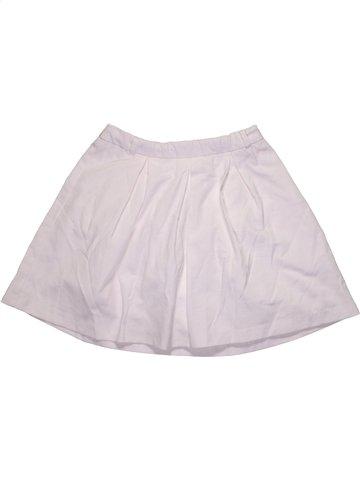 Falda niña OKAIDI blanco 12 años verano #1172454_1