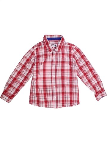 Chemise manches longues garçon TEX rose 8 ans hiver #1172546_1