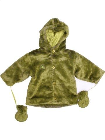 Abrigo niña SANS MARQUE verde 12 meses invierno #1179448_1