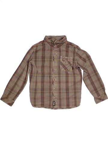 Camisa de manga larga niño TERRE DE MARINS marrón 8 años invierno #1179466_1