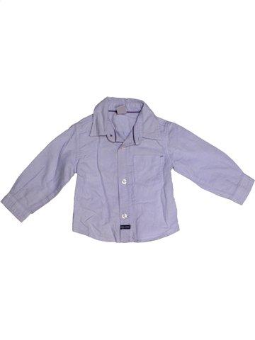 Chemise manches longues garçon ZARA bleu 6 mois hiver #1181452_1