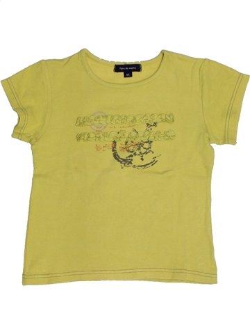 T-shirt manches courtes fille TERRE DE MARINS vert 6 ans été #1181462_1