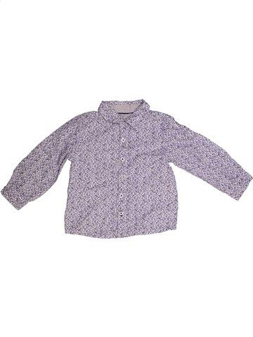 Blouse manches longues fille JODHPUR violet 2 ans hiver #1185250_1