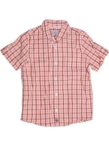 Chemise manches courtes garçon CYRILLUS rose 8 ans été #1186006_1