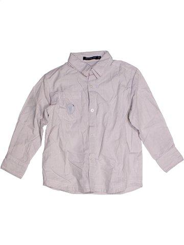 Chemise manches longues garçon TOUT COMPTE FAIT blanc 6 ans hiver #1188816_1