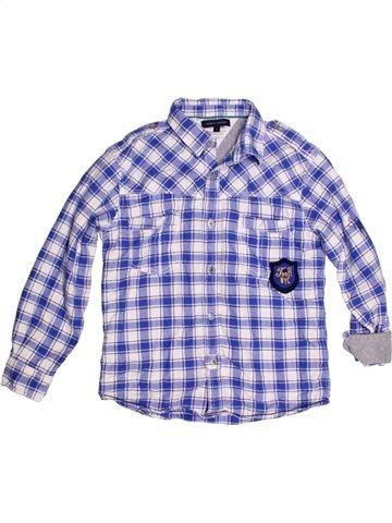 Chemise manches longues garçon TOMMY HILFIGER violet 8 ans hiver #1190107_1