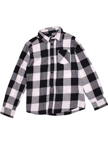 Chemise manches longues garçon LIBERTO gris 8 ans hiver #1190737_1