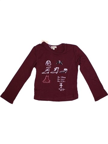 Camiseta de manga larga niña ELIANE ET LENA marrón 5 años invierno #1195752_1