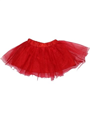 Jupe fille ZARA rouge 4 ans hiver #1195892_1