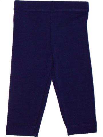Legging fille LILI GAUFRETTE violet 2 ans été #1196079_1