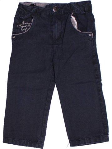Pantalon garçon JEAN BOURGET noir 2 ans hiver #1197833_1