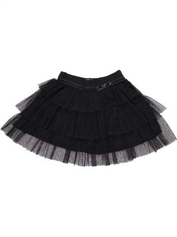 Falda niña VERTBAUDET negro 2 años invierno #1198066_1