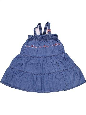 Robe fille GRAIN DE BLÉ bleu 2 ans été #1198169_1