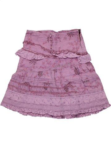 Jupe fille DDP violet 6 ans été #1198399_1