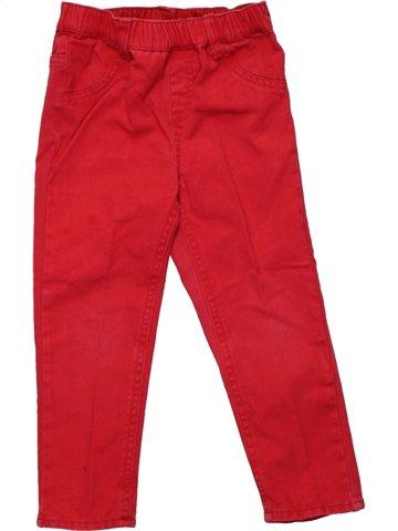 Pantalón niña NOUKIE S rojo 3 años verano  1199170 1 ae215a985691