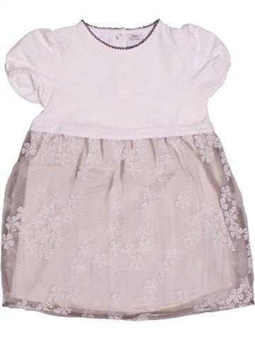 Robe fille S OLIVER blanc 2 ans été #1203934_1
