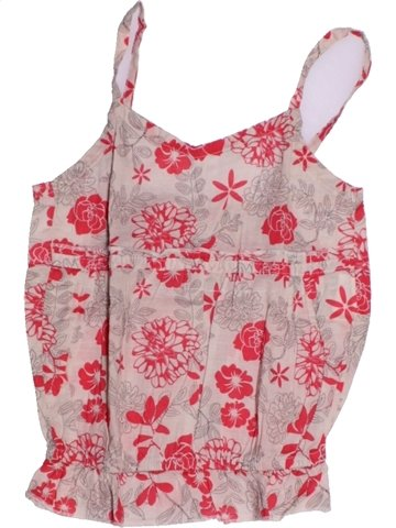 Blusa de manga corta niña KIABI rosa 2 años verano #1205737_1