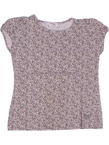 T-shirt manches courtes fille CONFETTI violet 3 ans été #1205904_1