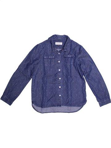 Blusa de manga larga niña JEAN BOURGET azul 8 años invierno #1208992_1