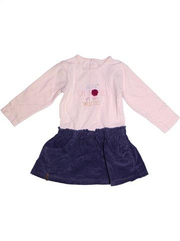 Vestido niña SUCRE D'ORGE rosa 2 años invierno #1210583_1