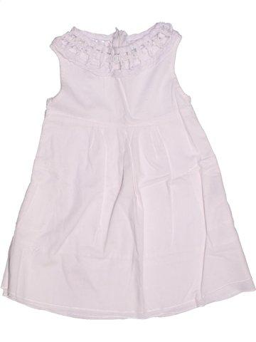 Robe fille LA COMPAGNIE DES PETITS blanc 2 ans été #1210628_1